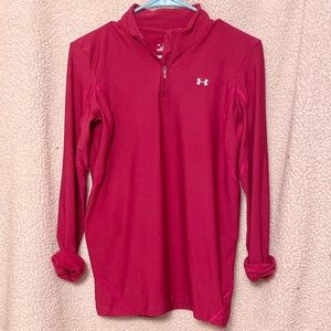 Under Armour Cold Gear 1/4 zip pullover